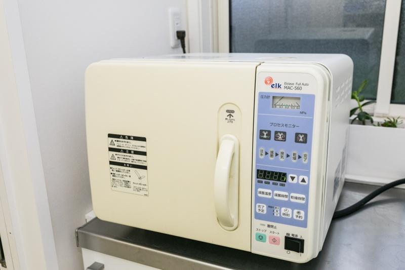 全自動高圧蒸気滅菌器(オートクレイブ)