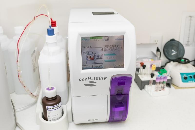多項目自動血球計数装置
