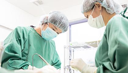 「痛み」と「負担」の少ない安心の手術
